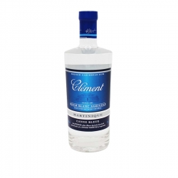 RHUM BLANC CLEMENT CANNE BLEUE 50%